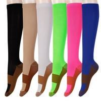 Women Copper Fibers Compression Socks