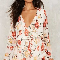 Cover Ground Floral Romper
