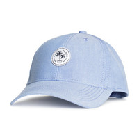 Cotton Cap with Embroidery - from H&M