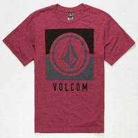 Volcom Moulder Boys T-Shirt Pink Combo  In Sizes