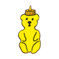 Honey Bear Lapel Pin