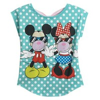 Disney Mickey Mouse & Friends Minnie Mouse Dot Bow-Back Tee - Girls 7-16