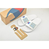 Champion Life Youth Slide Sandals White