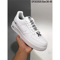 "Nike Air Force 1 Low ""Double Air"" cheap Men's and women's nike shoes"