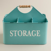 Aqua Donna Storage Caddy - World Market