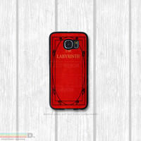 The Labrynith, Classic Book, Custom Phone Case for Galaxy S4, S5, S6