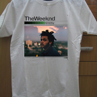 The Weeknd Official Issue Shirt Xo OVOXO Logo White Gray Unisex t-Shirt Tee S,M,L,XL #2