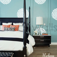 Vinyl Wall Sticker Decal Art - Flowers