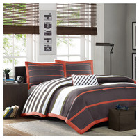 You should see this Ashton Comforter Set in Grey on Daily Sales!