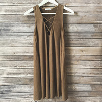 The Laci Dress (Camel)
