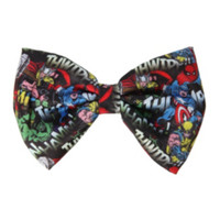 Marvel Collage Hair Bow