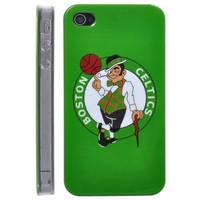 Boston Celtics NBA BasketBall Club Pattern Hard Case for iPhone 4