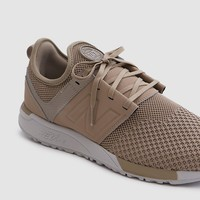 New Balance / 247 Knit in Taupe/Black