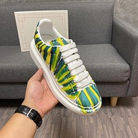 AIexanderMcQUEEN  Woman's Men's 2021 New Fashion Casual Shoes Sneaker Sport Running Shoes0414wd