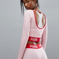 Puma Exclusive To ASOS Long Sleeve Crop Top at asos.com