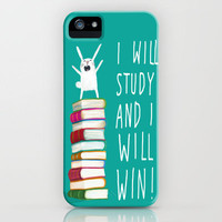 I Will Study and I Will Win! iPhone Case by Dale Keys | Society6