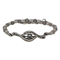 Alex and Ani Protective Eye Wrap - Russian Silver