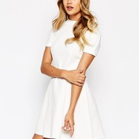 River Island Fit And Flare Jersey Dress