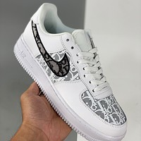 Dior x Nike Air Force 1 Low Sneakers Shoes