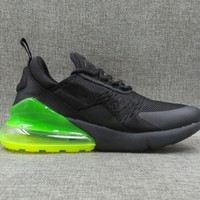 Men Nike Air Max 270 Black/Green