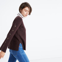 Button-Sleeve Pullover Sweater : shopmadewell pullovers | Madewell