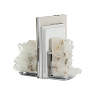 Fim Crystal Bookends from Anna New York