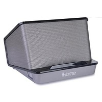 iHome Portable Rechargeable Stereo Speaker System w/3.5mm Auxiliary Jack