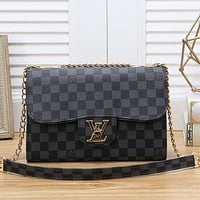 Louis Vuitton LV Women Fashion Leather Tote Crossbody Shoulder Bag Satchel