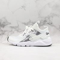 Nike Air Huarache Ultra 4 Transparent White/ Silver Running Shoes - Best Online Sale
