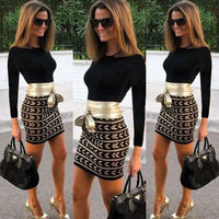 Sexy Women Long Sleeve Fashion Bodycon Short/Mini Dress Evening Party Cocktail = 1946158468
