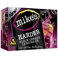 Walmart: Mike's Harder Black Cherry Lemonade Malt Beverage, 8 fl oz, 12 pack