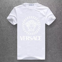 Trendsetter Versace Women Men Fashion Casual Shirt Top Tee