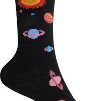 Solar System Crew Socks in Black