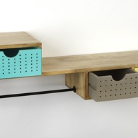 Butler Motley Modern Storage Wall Shelf