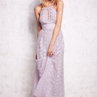 Free People Womens Starflower Embroidered Maxi