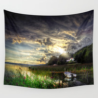 Divine Wall Tapestry by HappyMelvin
