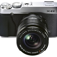 Fujifilm X-E2 16.3 MP Mirrorless Digital Camera with 3.0-Inch LCD and 18-55mm Lens (Silver)