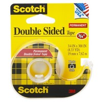 Scotch Double Sided Permanent Tape .75in x 300in