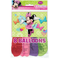 Minnie Mouse Party Balloons [8 Per Pack]