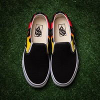 Vans Canvas Old Skool Flats Sneakers Sport Shoes G-CSXY