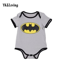 Batman Dark Knight gift Christmas Batman Baby Romper Boy/girls Clothes Babies Superman Body for Newborn Boys Cotton Short Sleeve jumpsuit Girls clothing AT_71_6