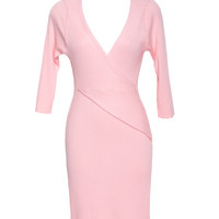 Crush Hard Pink Knit Dress