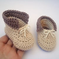 "Crochet Baby boy shoes, Baby shoes, Custom baby shoes, fashion baby shoes, baby accessories - Up to 12 cm (4.7"")"