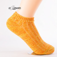 Hemp Bold Linen Colorful 2017 Natural Candy Multiple Colors Short Socks Women Fashion Calcetines Mujer Novelty Cute Skarpetki