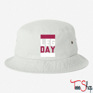 Leg Day bucket hat