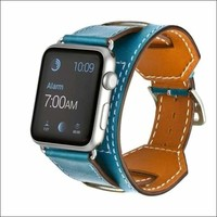 Sports Design Leather Apple Watch Band