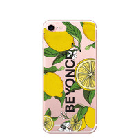 For iPhone7 7Plus 6 6S 6Plus 5 5S SE Case Cloud unicorn  I Ain't Sorry Beyonce Lemonade Boy Bye Clear Soft TPU Case Capa C -Girllove100
