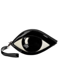 Lulu Guinness Eye Coin Purse - Black Womens Accessories - FREE UK Delivery