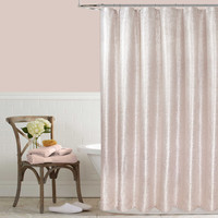 Celina Metallic Shower Curtain