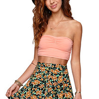 LA Hearts Button Front Skater Skirt at PacSun.com